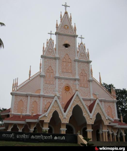 St Mary's Jacobite Syrian Cathedral, Kollam, Kerala - World
