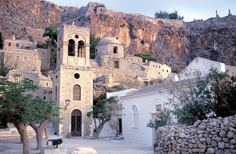 Elkomenos Christos, Monemvasia