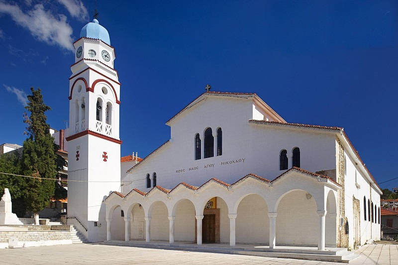 Saint Nicholas Orthodox Church, Poligiros, Chalkidiki - World Orthodox  Directory