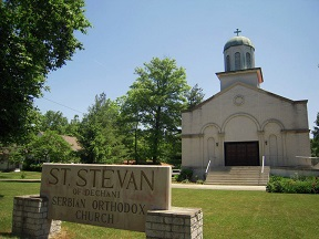 Saint Stephen of Dechani Serbian Orthodox Church